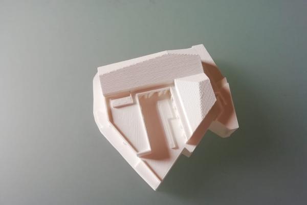 Plastico di un edificio