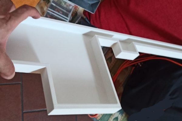 Vaschetta evaporazione per frigorifero