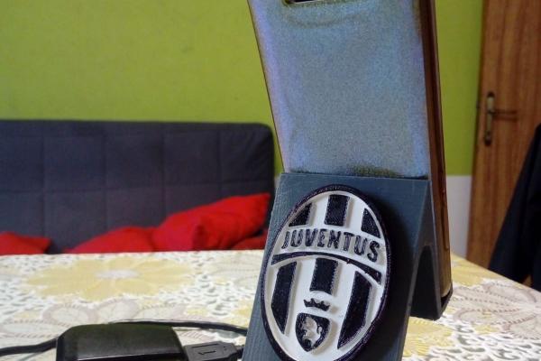 Stand porta Iphone Juventus