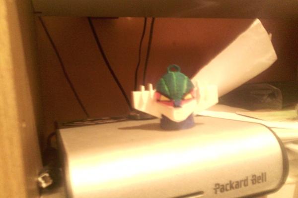 Ciondolo testa di Jeeg Robot stampato in Pla