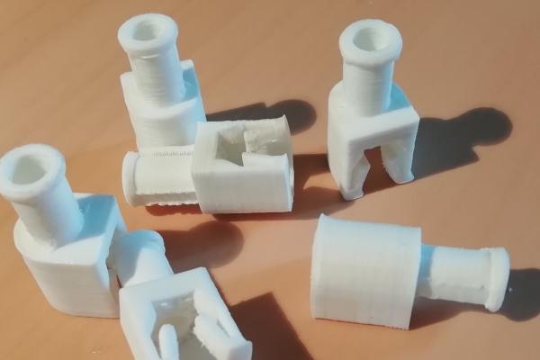 prototipi di supporto in ABS